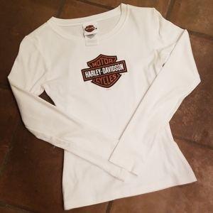 Harley Davidson long sleeve Tshirt